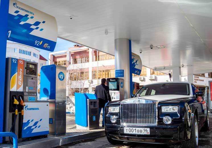 НаЮжном Урале появились автоматические АЗС сети «Газпромнефть»