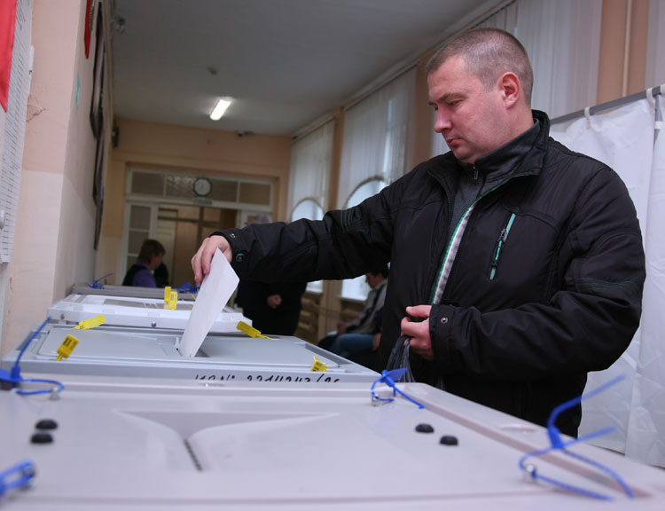 Выборы 2016: явка вЧелябинской области на10.00