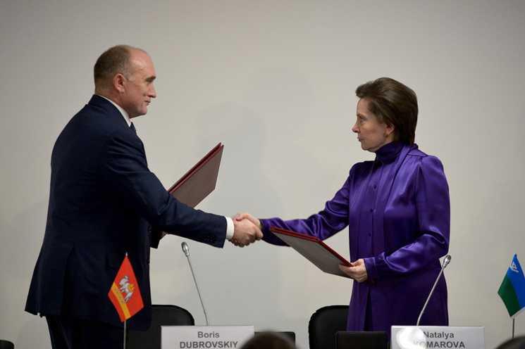 Подписано соглашение между Владимирской областью иХанты-Мансийским автономным округом— Югрой