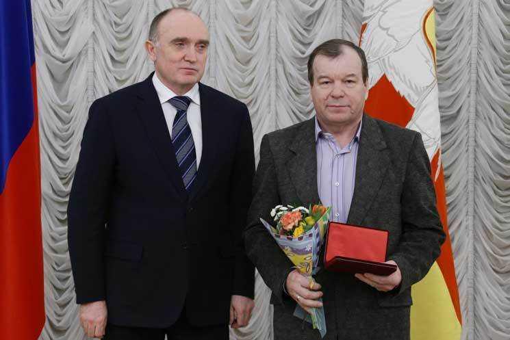 Рабочий РМК получил награду «Зазаслуги перед Отечеством»