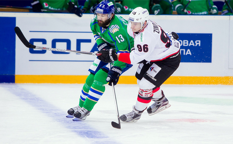 «Салават Юлаев» обыграл «Трактор» вматче чемпионата КХЛ