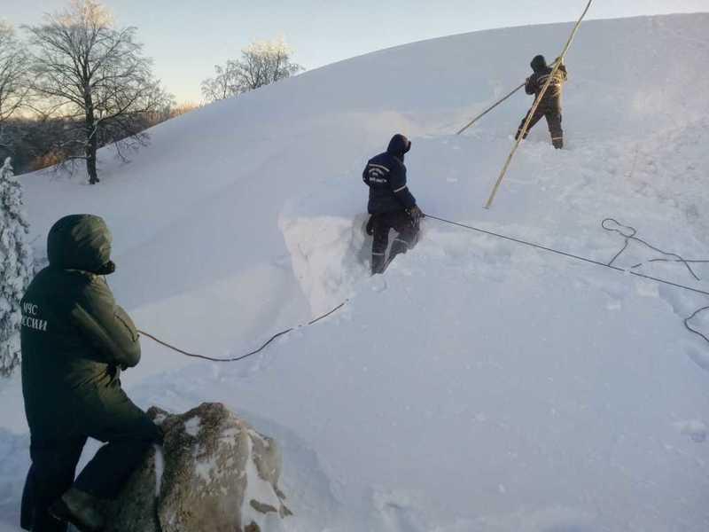 Сход снежной лавины нагород предотвратили вЧелябинской области ФОТО