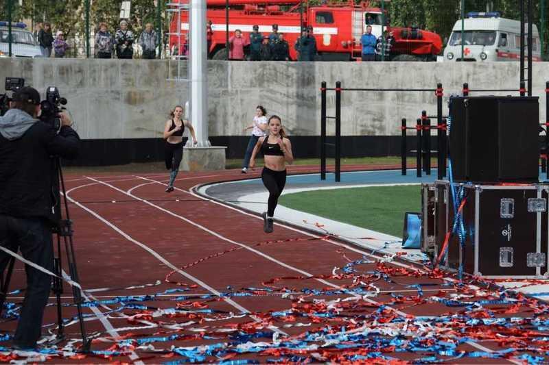 ВКарабаше заработал спортивный комплекс площадью 7 тыс. квадратных метров