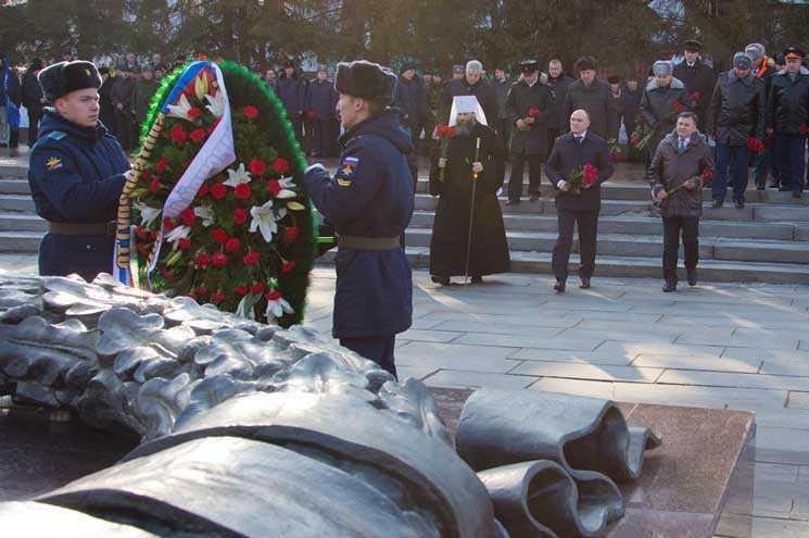 ВКалуге почтили память павших защитников Родины
