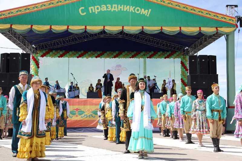 Сабантуй вТроицке посетили 30 тыс. человек