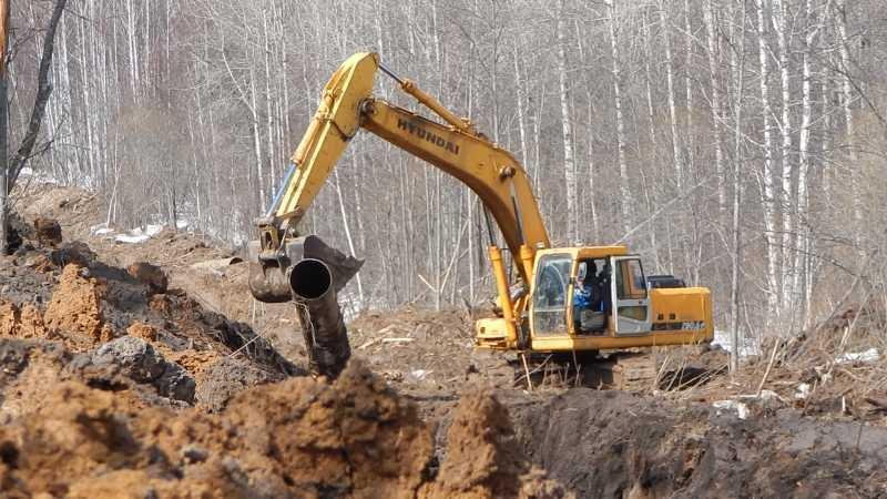 540 метров нефтепровода украли наЮжном Урале