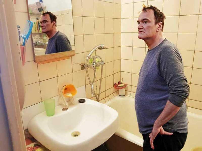 Не отставая от моды: Тарантино «прорекламировал» квартиру в Челябинске