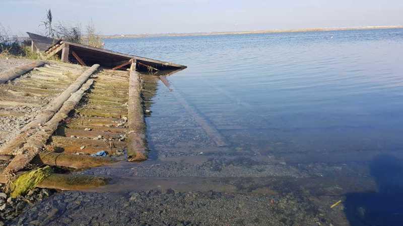 ВЧелябинске идет работа попонижению уровня воды возере Смолино