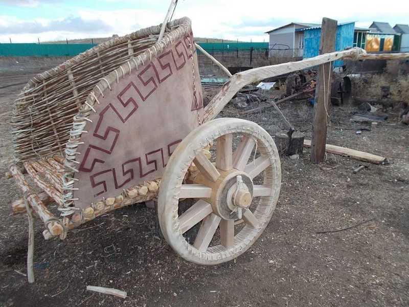 Колесницу без цельного гвоздя построили наАркаиме